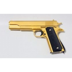 replique-Pistolet Ressort Colt 1911 OR Metal (Galaxy G13GD) -airsoft-RE-GAG13GD