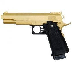 Galaxy G20D type Smith & Wesson M1911 M945 OR Full Metal Ressort RE-GAG20GD Pistolet à ressort - Spring
