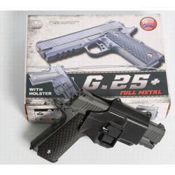 Hi-Capa Strike Warrior Strike Gun mit Metallholster (Galaxy G25 +) RE-GAG25 + Federnachbildungen