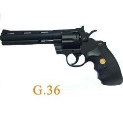 "Revolver Colt 357 Magnum 6"" Ressort Noir (Galaxy)"