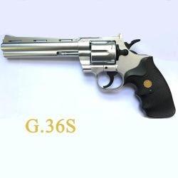 """Colt Spring Revolver Gun 6 """"Spring Silver (Galaxy G36S)"""
