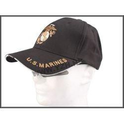 Emerson US Marine Baseball Cap Black (Emerson) Uniformes HA-EMBD5408