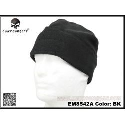 Gorro de lana negro con velcro (Emerson)