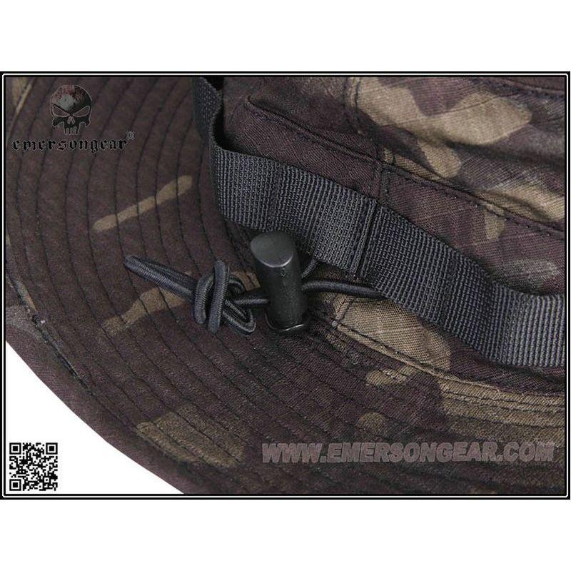 Emerson Boonie Hat Chapeau Brousse Multicam Black 36c76ca59f8