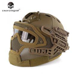 Helm / Maske G4 PJ mit Zubehör Coyote (Emerson)