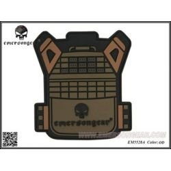 Giacca in PVC 3D Patch JPC OD (Emerson)