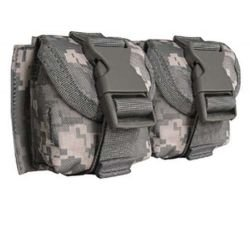 Emerson Poche Molle Double Grenade Frag. ACU AC-FDST306ACU Déstockages