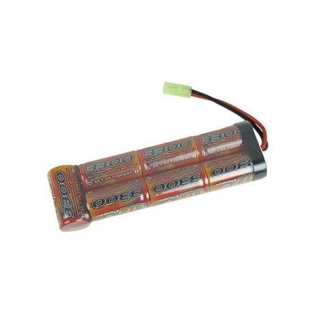 CYBERGUN Batterie Nimh Large 8,4V 3000 mAh (Swiss Arms 603260) AC-CB603260 Batteries Airsoft