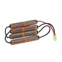 ICS Batterie Quatre Bâtons 9.6V 200 mAh