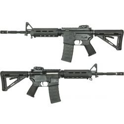 replique-King Arms Magpul PTS M&P15 MOE Noire (KA-AG-52) -airsoft-RE-KAAG52BK