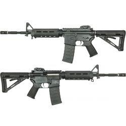 replique-King Arms Magpul PTS M&P15 MOE Noire (KA-AG-52) -airsoft-RE-KAAG52BK