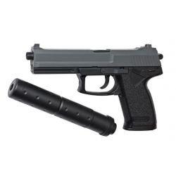 replique-Pistolet Ressort MK23 Socom w/ Silencieux Ressort (ASG 15918) -airsoft-RE-AS15918