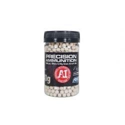 Flasche 0,40 g von 1000 weißen Perlen (ASG 18413)