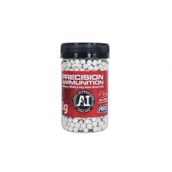 Flasche 0,43 g von 1000 weißen Perlen (ASG 18724)