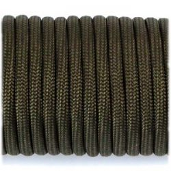 Paracord 4mm Type III 550 Army Green (Fibex)