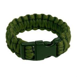 "Bracelet Paracorde ""Cobra"" OD (Fibex)"