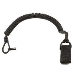 Cinturino elastico nero (Fibex)