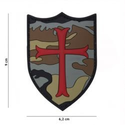 3D PVC Crusader Woodland Patch (101 Inc)