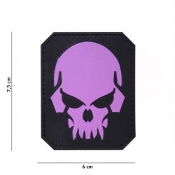 Patch 3D PVC Skull Rose (101 Inc)