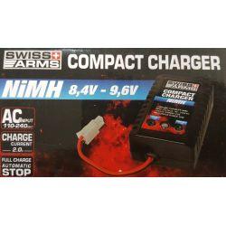 Cargador de batería automático NiMh (Swiss Arms 603367)