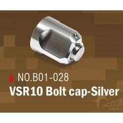 Action Army Action Army Bolt Cap Silver VSR10 AC-AAB01028 Actualiza las piezas de francotirador