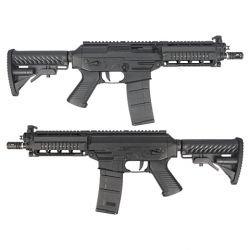King Arms King Arms SIG 556 Shorty RAS Blowback Métal RE-KAAG23 Fusil électrique - AEG