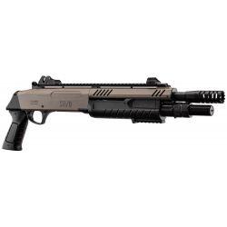 replique-BO Fusil à pompe Fabarm STF/12-11 Court Desert -airsoft-RE-BOLR3005