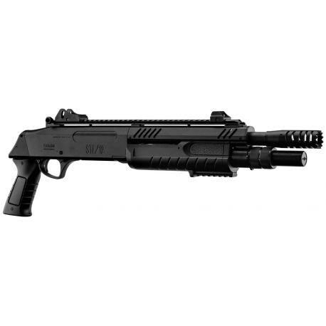 replique-BO Fusil à pompe Fabarm STF/12-11 Court Noir -airsoft-RE-BOLR3004
