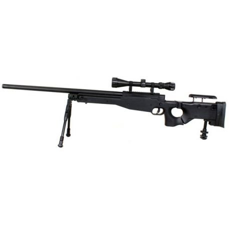 replique-Sniper L96 Arctic Warfare 338 w/ Lunette & Bipied (Well MB-08D) -airsoft-RE-WLMB08D