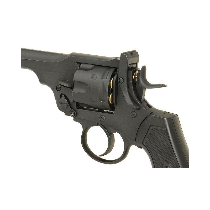 Well Revolver Co2 Webley MK VI G293A