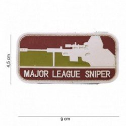Patch 3D PVC Major League Sniper Arid (101 Inc)