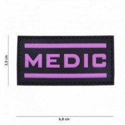 3D PVC Medic Rose Patch (101 Inc)