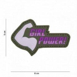 3D PVC Girl Power Patch! Rosa (101 inc)