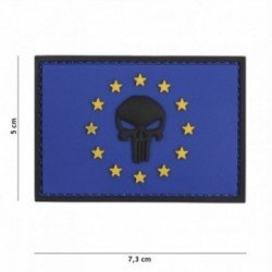 Patch 3D PVC Punisher EU Bleu (101 Inc)