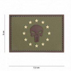 101 INC Patch 3D PVC Punisher EU OD (101 Inc) AC-WP4441305335 Patch en PVC