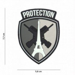Patch 3D PVC Protection Paris Gris (101 Inc)