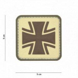 101 INC Patch 3D PVC Croix de Fer Coyote (101 Inc) AC-WP4441305383 Patch en PVC