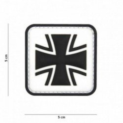 Parche cruzado de PVC 3D (101 Inc)