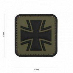 PVC 3D Patch OD Iron Cross (101 Inc)