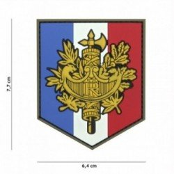 PVC 3D Patch Beam Repubblica francese (101 Inc)