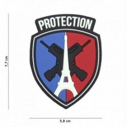 Patch 3D PVC Protection Paris (101 Inc)