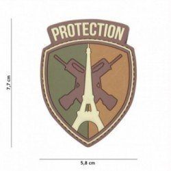 Patch 3D PVC Protection Multicam Paris (101 Inc)