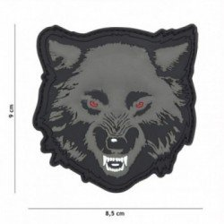 Grauer Wolf PVC 3D Patch (101 Inc)