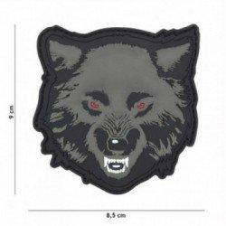 Patch 3D PVC Wolf Gris (101 Inc)