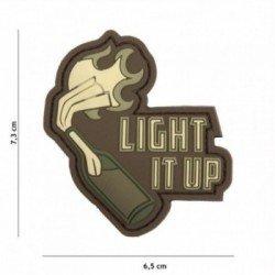 Parche de PVC 3D Light it up Woodland (101 Inc)