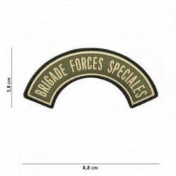 Brigada de PVC 3D Fuerzas Especiales OD Parche (101 Inc)