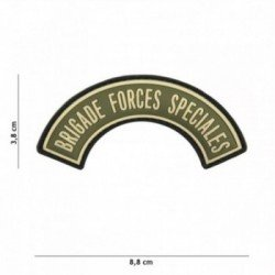Patch 3D PVC Brigade Forces Speciales OD (101 Inc)
