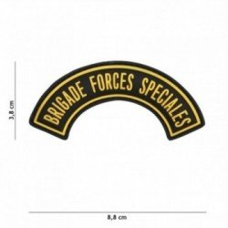 3D PVC Brigade Special Forces gelber Patch (101 Inc)
