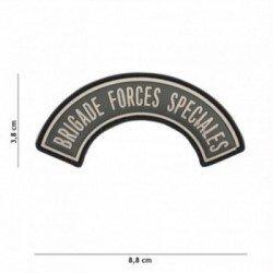 Forze speciali della brigata PVC 3D Grey Patch (101 Inc)