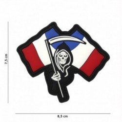 French Reaper PVC 3D Patch (101 Inc)